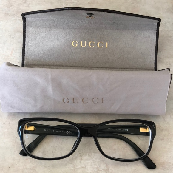 8e69cd9d3f23a Gucci Accessories - Gucci Eye Glasses   Case with clean cloth